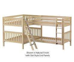 Maxtrix QUADRANT Corner High Bunk Bed Bed Frames Matrix Furniture - Maxtrix bunk bed
