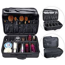 professional makeup carrier augymer travel makeup bag multifunctional 3 layer cosmetic