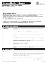 Sample Resume Declaration Format by Identity Declaration Form 3 Free Templates In Pdf Word Excel