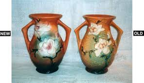 Reproduction Chinese Vases Roseville Copies Hit Market