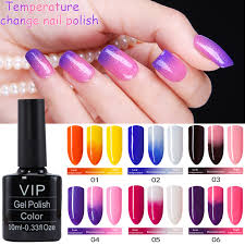 aliexpress com buy mdskl temperature changing gel nail polish