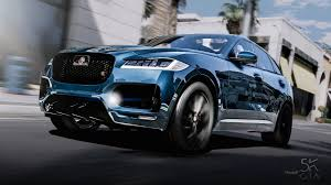 jaguar f pace jaguar f pace 2017 add on gta5 mods com