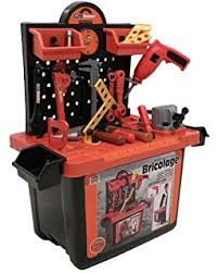 Toddler Tool Benches - toy tool set workbench kids workshop toolbench amazon co uk toys