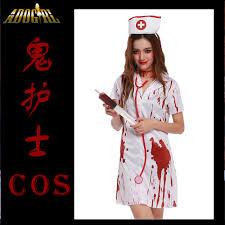 online get cheap scary nurse halloween costume aliexpress com