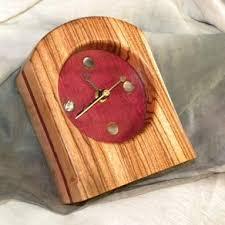 Wood Desk Clock Custom Personalized Modern Desk Clock U0026 Engraved Desk Clocks