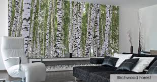 Mystical Forest Mural Nature Mural Forest Wallpaper For Room Wallpapersafari