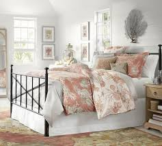 Pottery Barn Tropical Bedding 80 Best Coastal Bedding And Linens Images On Pinterest Coastal