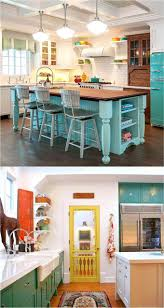 Photos Of Painted Kitchen Cabinets Best 10 Turquoise Kitchen Cabinets Ideas On Pinterest Turquoise