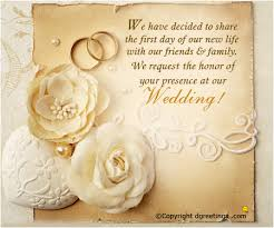 Card For Bride From Groom Wedding Invitation Wording For Friends From Groom Indian Yaseen