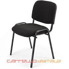 sedia studio 6 sedie sedia d attesa imbottita ideale per ufficio studio o