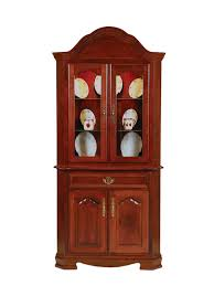 corner china cabinets dining room solid wood corner china cabinets heritage allwood furniture