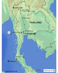 Phuket Thailand Map Familienspaß In Thailand Comtour Gmbh