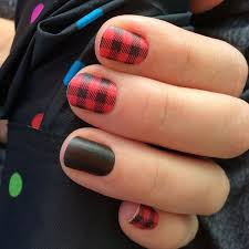 26 red and black nail designs ideas