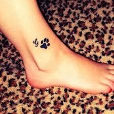 paw print heart tattoo latest dog paw print tattoos ideas