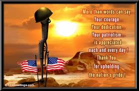thanking our soldiers express our gratitude for everything