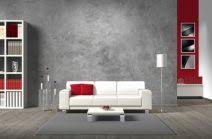 wandgestaltung grau aktuell wohnzimmerwand ideen grau rot wandgestaltung wohnzimmer