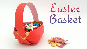 easter baskets to make easter basket diy tutuorial by paper folds