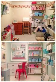 Craft Room Makeovers - craft room makeover from disaster to diy er u0027s dream craft room