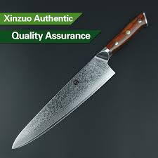 knives cooking knife 10 in authentique xinzuo 10 inch chef knife japanese damascus steel kitchen knives