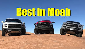 Ford Raptor Off Road - 2017 ford raptor toyota tacoma trd pro and ram power wagon drive