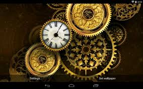 Futuristic Clock by Best Clock Live Wallpapers Android Live Wallpaper Download