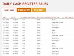Daily Sales Report Template Excel Free Sales And Inventory Templates For Excel