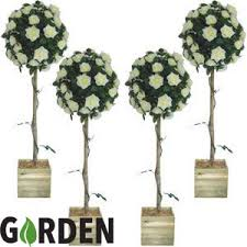 buy artificial tree 4ft set of 4 at home bargains