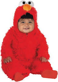 Toddler Halloween Costumes Buycostumes Elmo Plush Deluxe Infant Costume Elmo Halloween Costumes