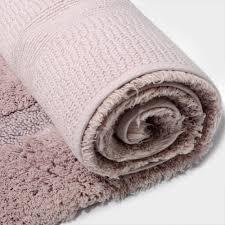 Contour Bath Rug Light Pink Bathroom Rugs Lighting Bath Mat Set Contour Rug Blush