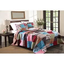 Patchwork Comforter Bedroom Patchwork Bedding Sets Wayfair In Brilliant Bedspread