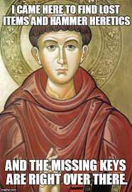 St Nicholas Meme - st anthony of padua aka the hammer of heretics the best catholic