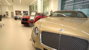 bentley showroom bentley global flagship showroom in dubai youtube