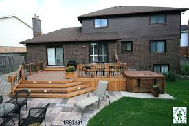 Patios And Decks For Small Backyards by Redwood Stairs Deck And Gazebo Great For Anyones Outdoor Living