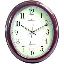 clock buy buy 35cm antique look wood crafts wooden wall radium clock without