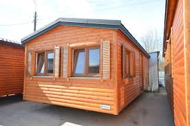 Exterior Mobile Home Makeover by Holiday Mobile Home 8x4m Log House Wooden Holiday Cottage