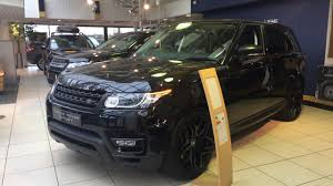 range rover land rover sport 2017 2017 range rover sport black edition exterior and interior