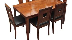 teak wood dining set in a stylish design make as per your size