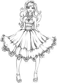 free fashion coloring cool fashion coloring pages at coloring book