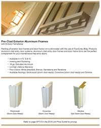 Aluminum Clad Exterior Doors Pre Clad Exterior Aluminum Frames Ben Bilt Building Systems