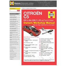 haynes manuals online citroen c5 supercheap auto
