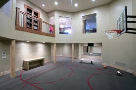 Basketball Room Decor Home Basketball Court Design Great Fireplace Model At Home