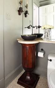 Smallest Powder Room - create a smashing powder room traditional home