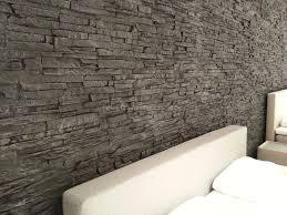 Wohnzimmerm El Dunkel Wohnzimmer Modern Steinwand Alle Ideen Für Ihr Haus Design Und