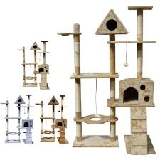 modern scratching post robust modular cat tower pet s modular cat tower sauder to groovy