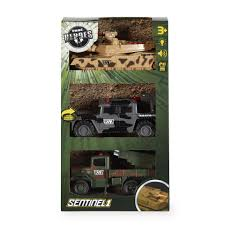 military jeep tan true heroes 3 pack light and sound vehicles grey green and tan