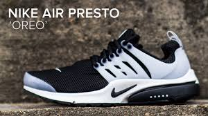 Nike Oreo nike air presto oreo and white on look