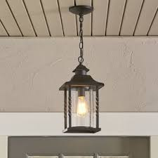 Outdoor Hanging Light Fixture Outdoor Hanging Lights You Ll Wayfair