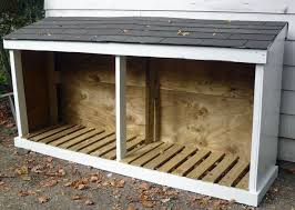 Plans To Build Wood Storage - wood shed add a door to one side and it doubles as a bike shed