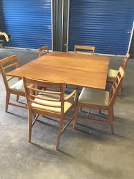 Drexel Dining Room Table Mid Century Drexel Dining Room Set