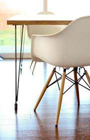 Hairpin Leg Dining Table Hairpin Leg Dining Table Diy Tutorial Rustic Dining Table With